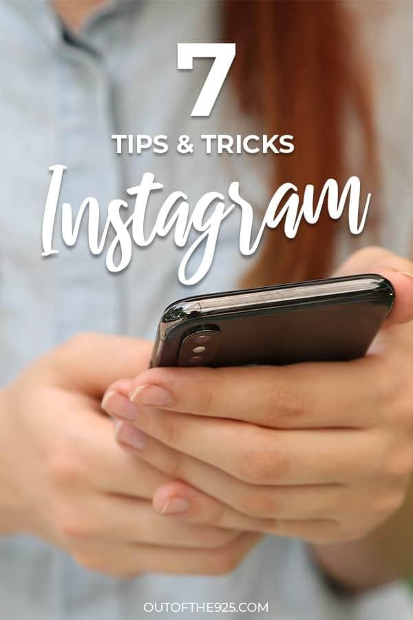 7 tips & tricks for instagram