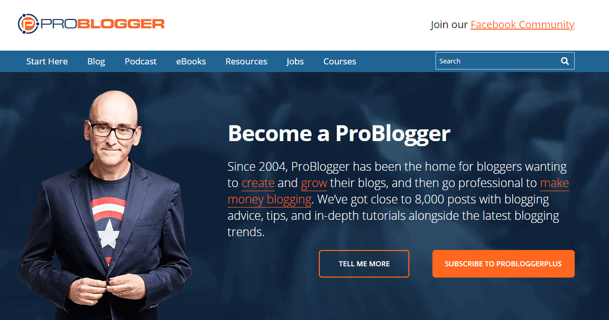 Pro blogger - How to find your blogging niche