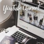 setting up your youtube channel