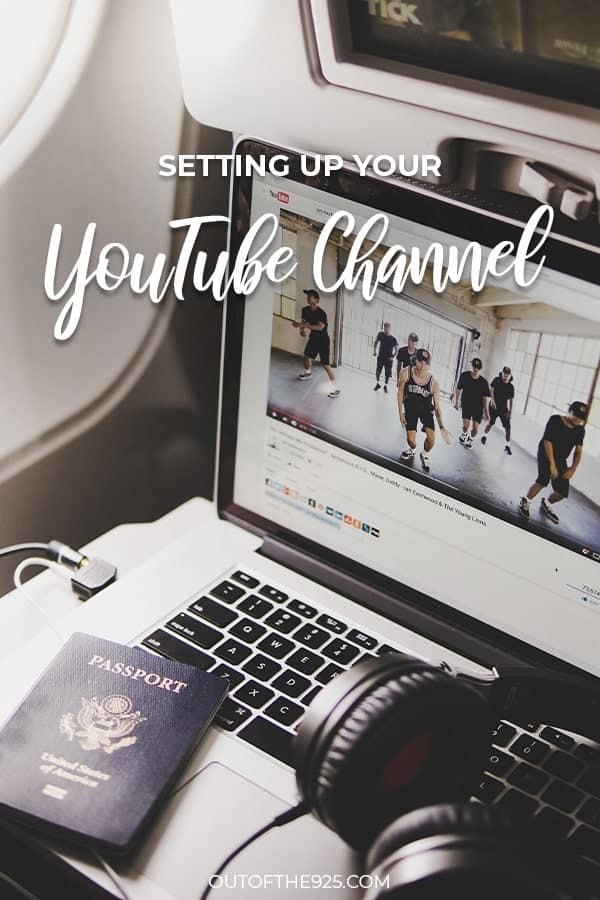 How to Set up your YouTube Channel & Upload your First Video