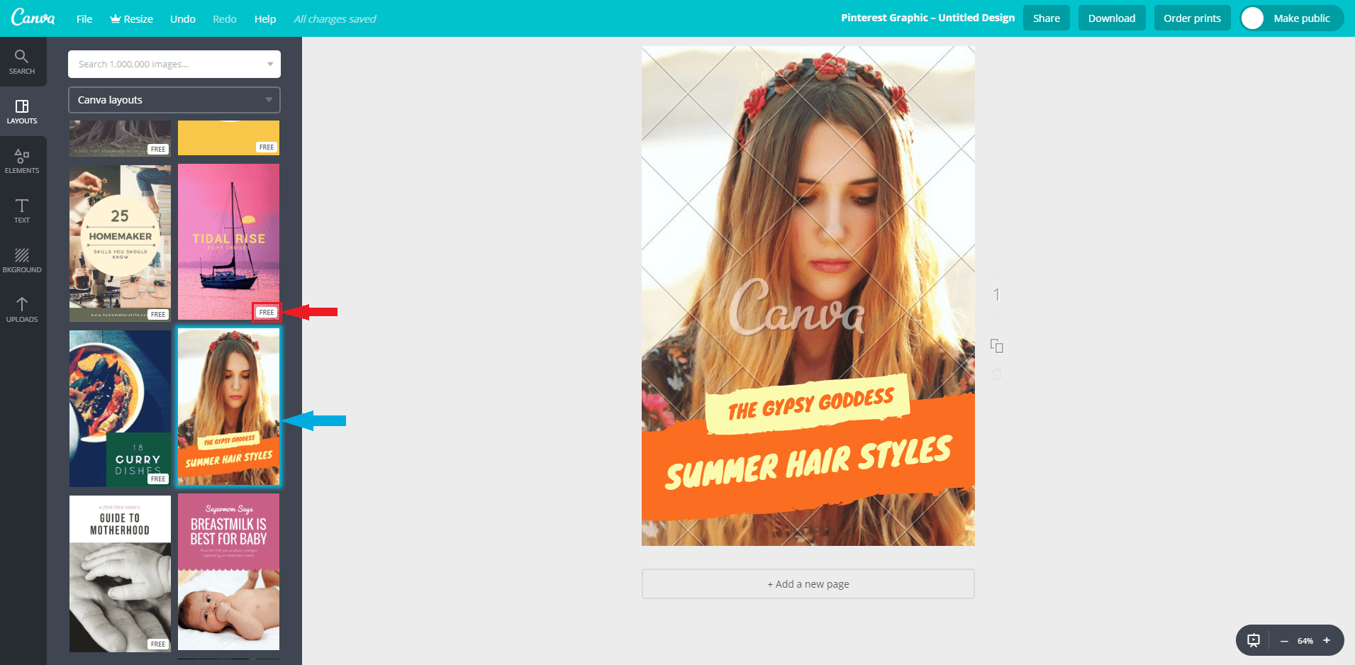 How to Create Amazing Pins for Free using Canva