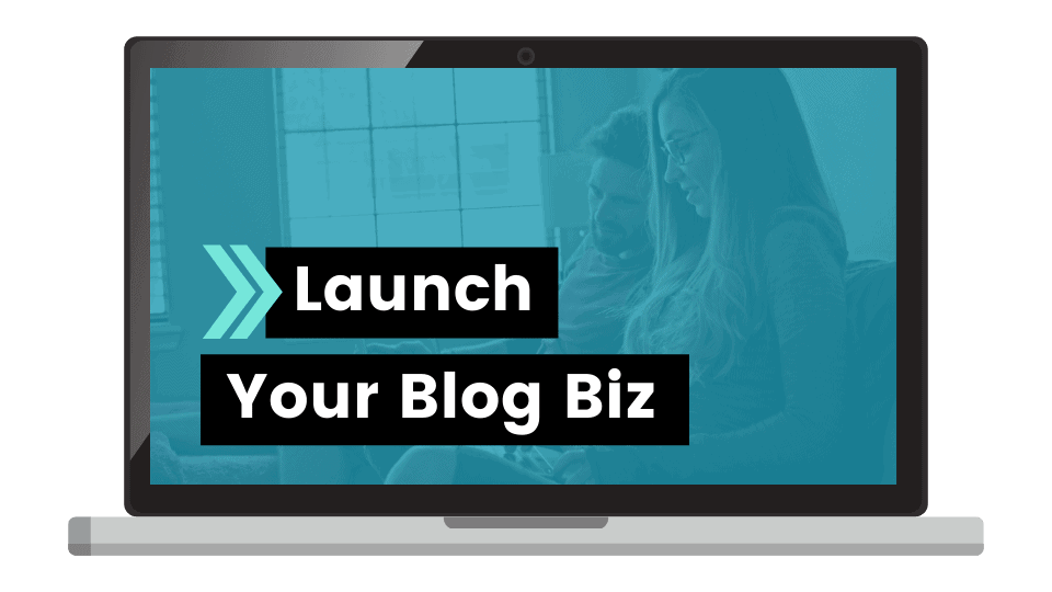 How to start a blog with the Launch Your Blog Biz Course