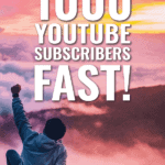 How to get your first 1000 YouTube Subscribers FAST! - Outofthe925.com
