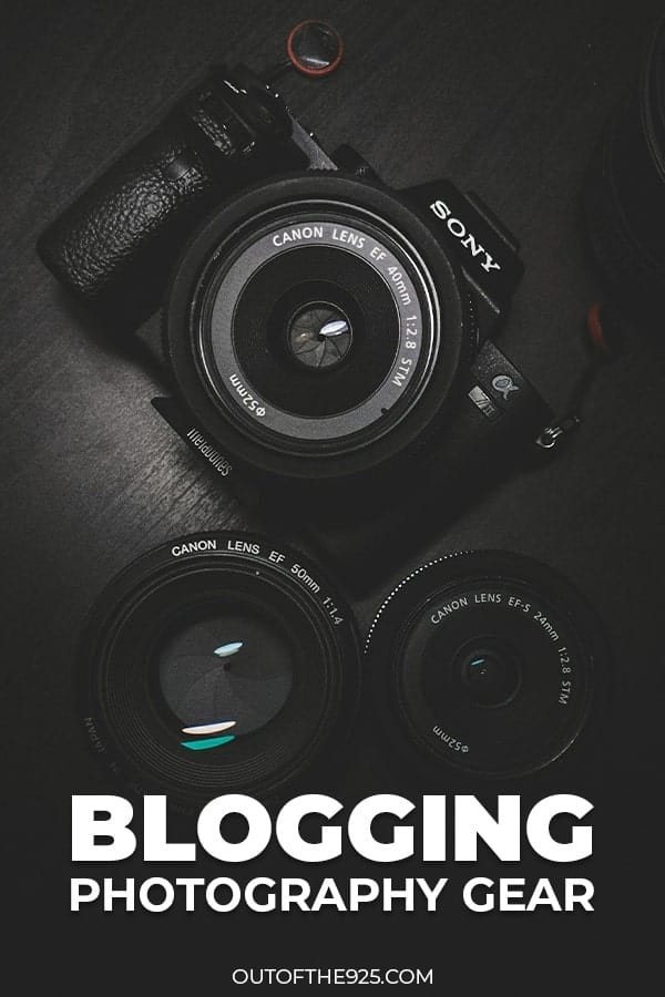 Blogging Photography Gear