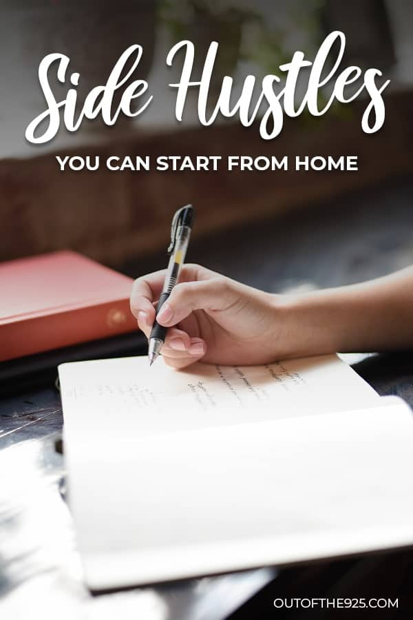 10 Side hustles you can start from home in 2019