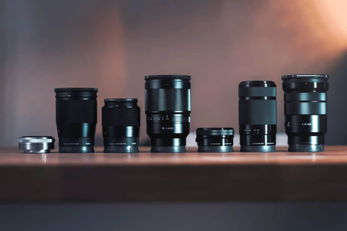 The Best Photography Equipment for Bloggers - Lenses