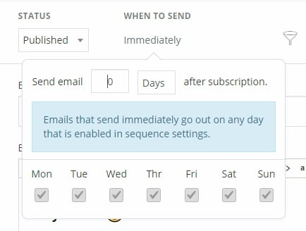 set the amount of days to zero so that the opt-in incentive email gets sent immediately