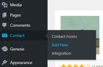Add New Contact Form 7