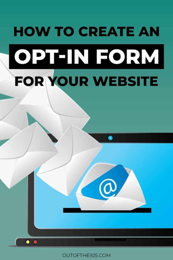 How to create an Opt-In Form for your Website