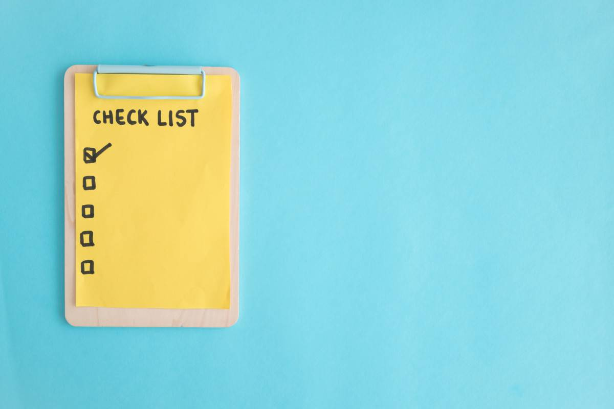 Different content ideas for your resource library can be checklists, workbooks, etc.