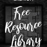 How to easily create a free resource library