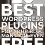 20 Best WordPress Plugins for your Blog, many are even Free
