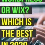Wordpress or wix which is the best in 2020