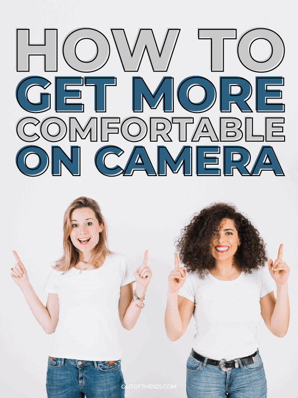 how to get comfortable on Camera