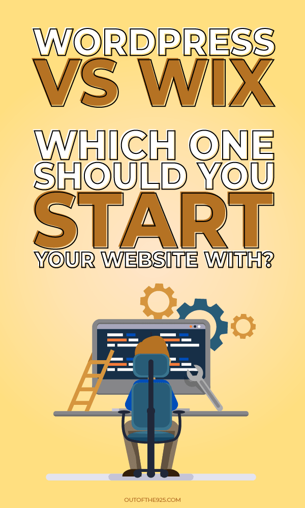 Wordpress vs Wix, which one should you start your website with?