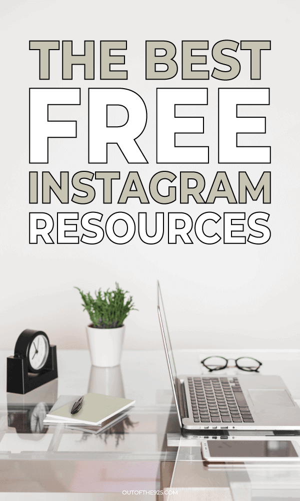 the best free instagram resources