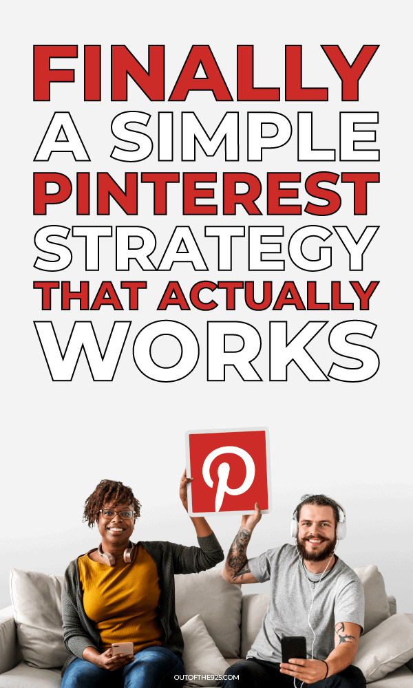 Finally a simple Pinterest strategy that actually works