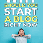 why should you start a blog right now