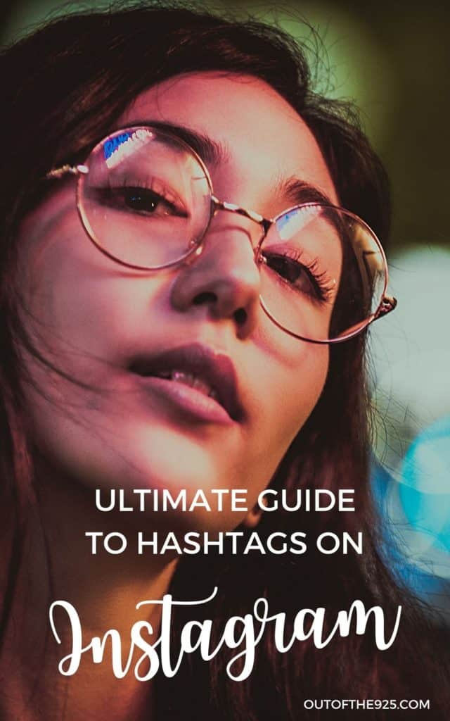 Womens face with Glasses - Ultimate guide to Hashtags on Instagram