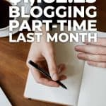 How i made $1182.25 blogging part-time last month