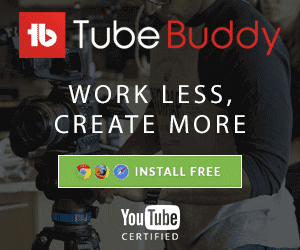 TubeBuddy Free Browser Extension